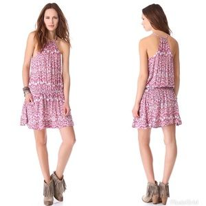 Free People Batik Print Dropwaist Dress